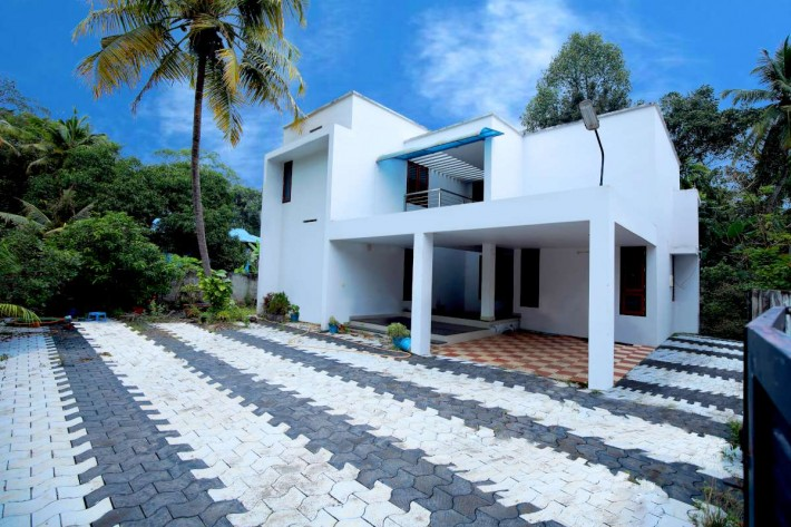 Villa Projects, Residential Building Construction in Karunagapally, Kollam, Kerala- MAR-Projects